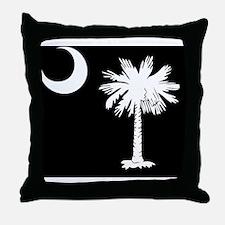 SC Palmetto Moon Throw Pillow