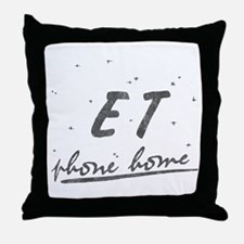 ET Phone Home Throw Pillow
