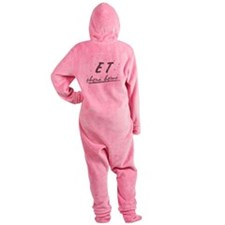 ET Phone Home Footed Pajamas