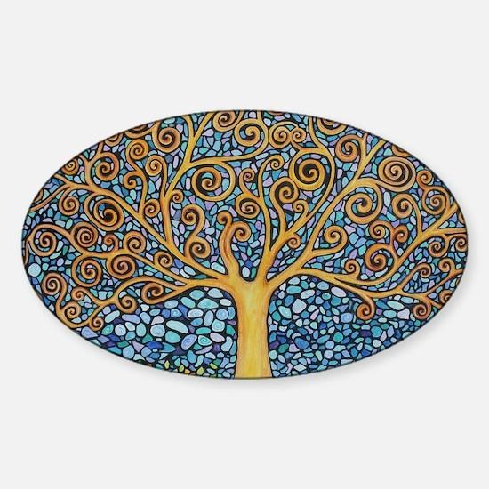 My Tree of Life Sticker (Oval)