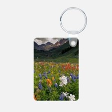 Alpine flowers in Rustler' Keychains