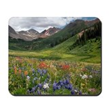 Colorado mountains Mouse Pads