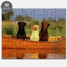 Dogs in a canoe Puzzle