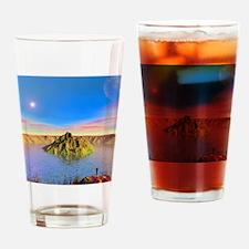Alien lake, conceptual artwork Drinking Glass