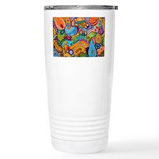 Abstract Whimsy Travel Mug
