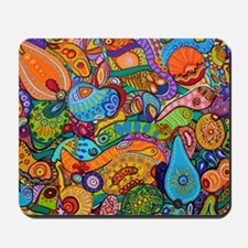 Abstract Whimsy Mousepad