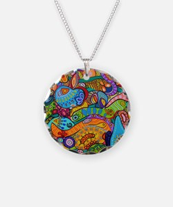 Abstract Whimsy Necklace