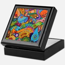 Abstract Whimsy Keepsake Box