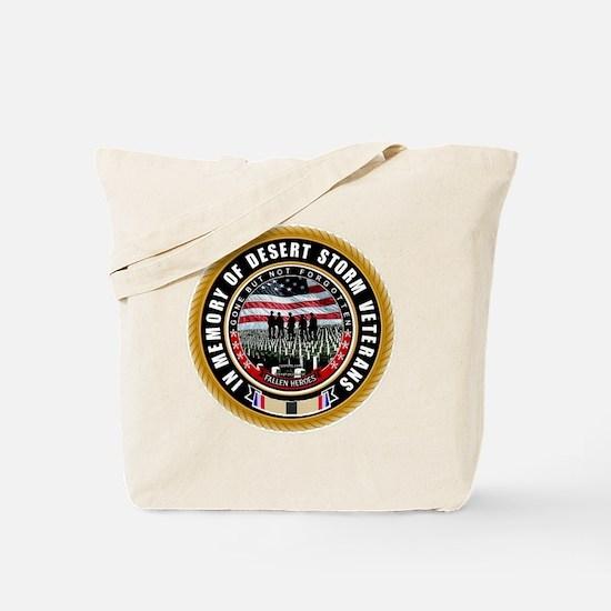 Desert Storm Veterans Tote Bag