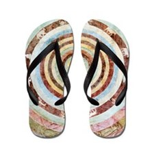 14th century theological cosmography Flip Flops