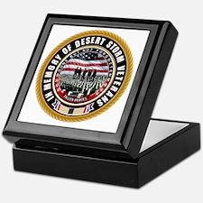 Desert Storm Veterans Keepsake Box