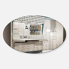 Analogue computer Sticker (Oval)