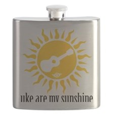 uke are my sunshine Flask