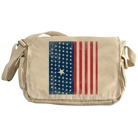 The Stars and Stripes Messenger Bag