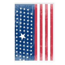 The Stars and Stripes Postcards (Package of 8)