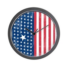 The Stars and Stripes Wall Clock