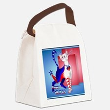 Calender 4th Of July American Kit Canvas Lunch Bag