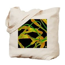 Blood clotting protein Tote Bag