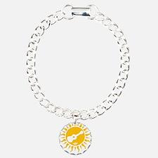 uke are my sunshine Charm Bracelet, One Charm
