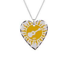uke are my sunshine Necklace Heart Charm