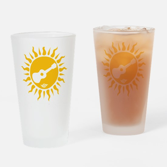 uke are my sunshine Drinking Glass