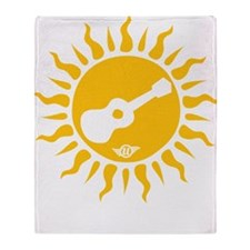 uke are my sunshine Throw Blanket