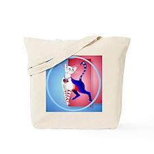 Circle An All American Cat Tote Bag