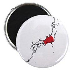 Flag Map of Japan Magnet