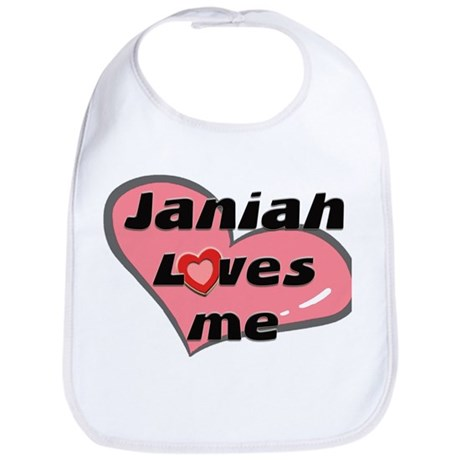 janiah loves me Bib