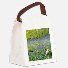 Bluebells (Hyacinthoides sp.) Canvas Lunch Bag