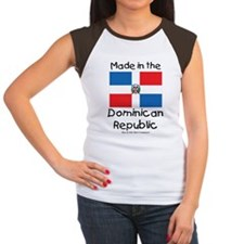 Made in the Dominican R Women's Cap Sleeve T-Shirt