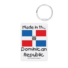 Made in the Dominican Repu Keychains
