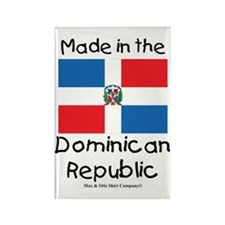 Made in the Dominican Republic Rectangle Magnet