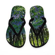 Bluebell wood Flip Flops