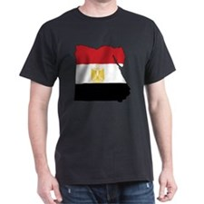 Flag Map of Egypt T-Shirt