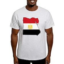 Flag Map of Egypt T-Shirt