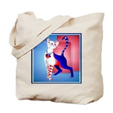 Pillow An All American Cat Tote Bag