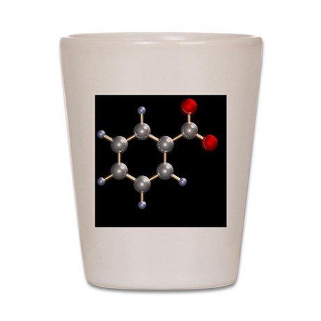 Benzoate ion Shot Glass