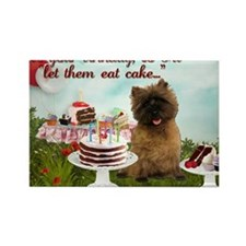 Cairn Terrier Happy Birthday Rectangle Magnet