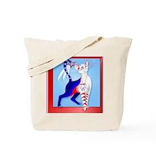 Pillow An American Cat Tote Bag