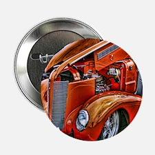 "Orange Antique Ford 2.25"" Button"