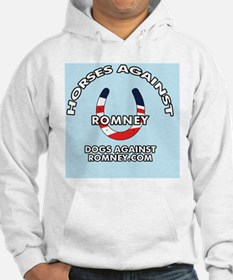 Horses Against Romney Button Hoodie