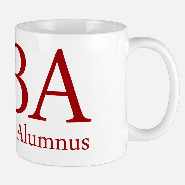 MBA - Mean Boss Alumnus (Red) Mug