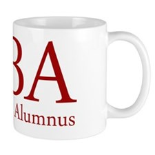 MBA - Mean Boss Alumnus (Red) Small Mug