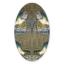 largemouth bass Decal