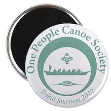 One People Canoe Society Tribal Journeys 20 Magnet