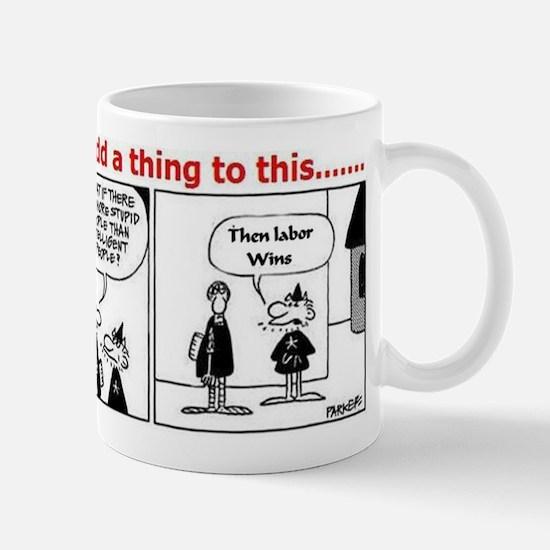 Political Cartoon Mug
