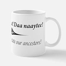 One People Canoe Society Motto Mug