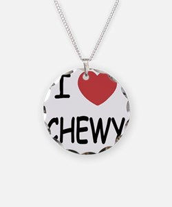 I heart CHEWY Necklace