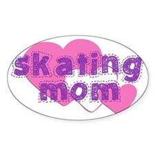 Skating Mom 3 Decal